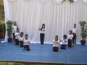 Le collège organise un concours de chant (2)