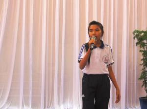 Le collège organise un concours de chant (3)