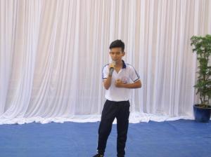 Le collège organise un concours de chant (5)