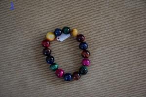01. Grand bracelet multicolore (13€)