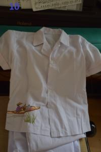 10. Pyjama blanc 2 ans (8€)