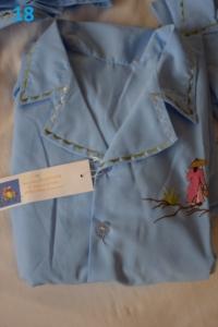 18. Pyjama bleu 8 ans (8€)