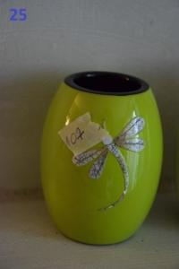 25. Porte bougie libellule vert (10€)