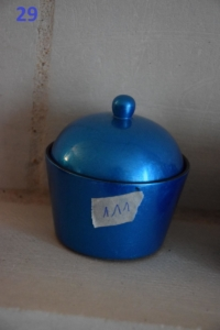 29. Petite boite simple bleue (7€)