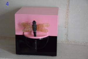 04. Boite laquée libellule rose (18€)