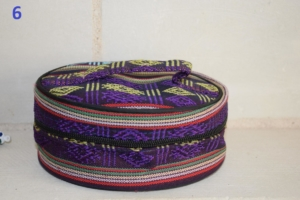 06. Trousse ronde violette (6€)