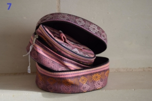 07. Trousse double ronde rose (12€)