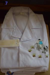 07. Pyjama blanc 4 ans (8€)
